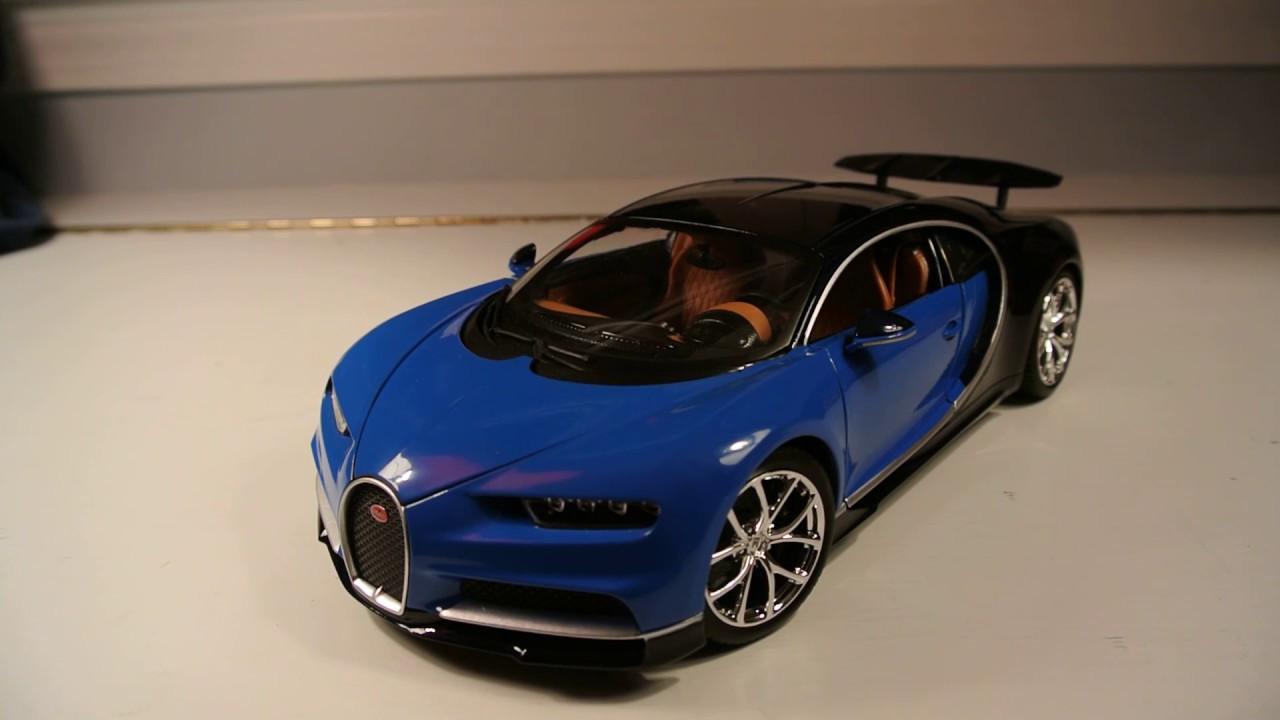 1 18 bburago bugatti chiron in depth review youtube. Black Bedroom Furniture Sets. Home Design Ideas