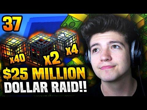 25$ MILLION DOLLAR RAID?! | Minecraft COSMIC FACTIONS #37 (Season 6)