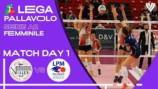 LIVE 🔴 Montecchio vs.  Mondovì - Women's Serie A2