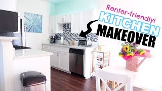 DIY SMALL KITCHEN HACKS MAKEOVER! Low Cost! | OhhMyAnnie