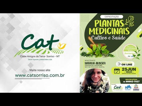 Projeto Cultivando Vida Sustentável - CAPACITAÇÃO PLANTAS MEDICINAIS CULTIVO E SAÚDE - #PARTE1