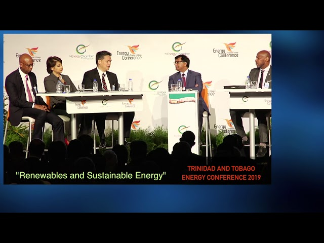Renewables and Sustainable Energy - NGC President at TT Energy Conference 2019