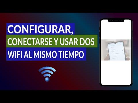 Cómo Configurar, Conectarse y usar dos Redes WiFi al Mismo Tiempo