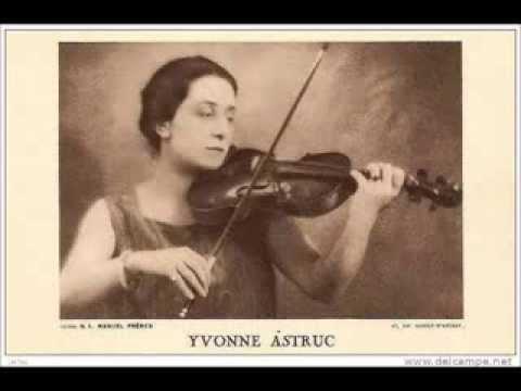 Yvonne Astruc, vln; Nadia Boulanger, pno - Lili Boulanger: Nocturne