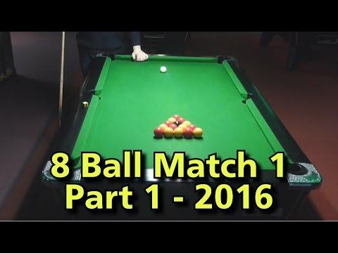 English 8 Ball Pool Match 1- 2016 Part 1