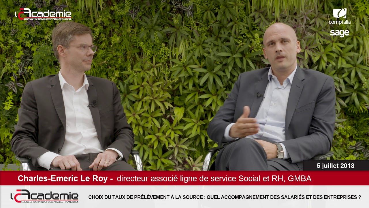 Les Entretiens de l'Académie : Frédéric Thienpont et Charles-Emeric Le Roy