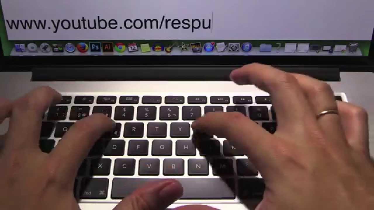 como hacer barra invertida en mac