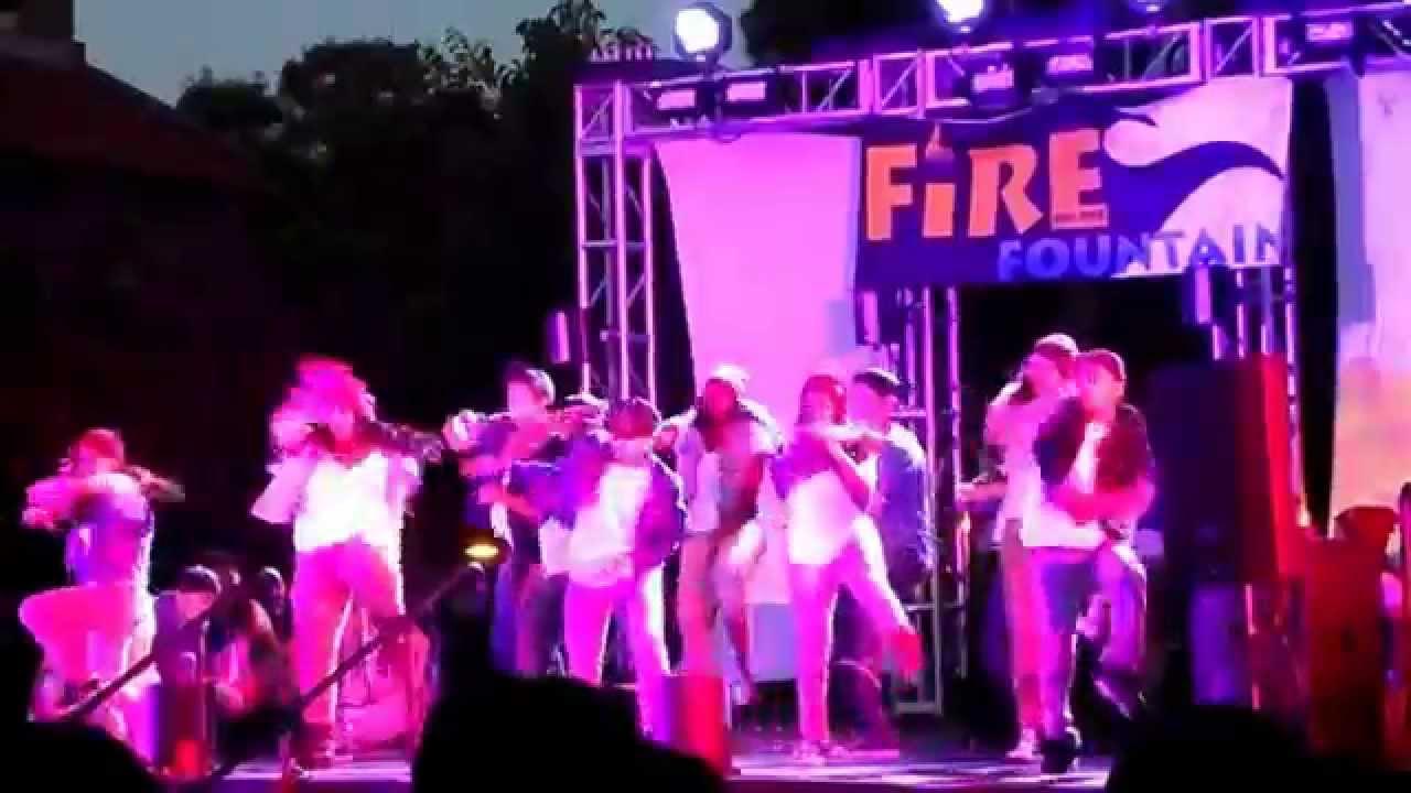 SJSU Hip-Hop Dance Club Performance at 2014 Fire on the Fountain ...