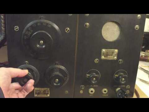 RCA Radio Model RC Operation