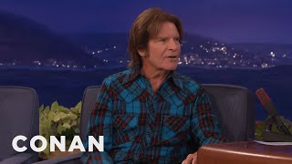 john fogertys woodstock memories   conan on tbs