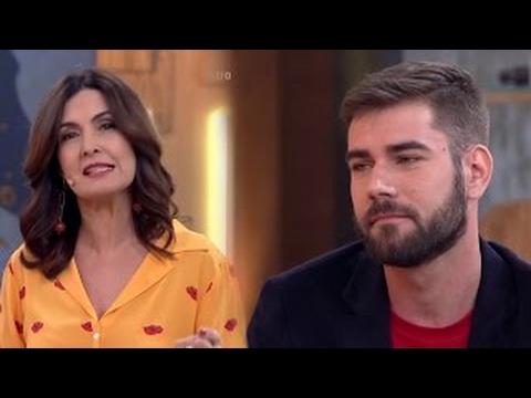 Fátima Bernardes faz um apelo contra o preconceito do virus da Aids Encontro 0603