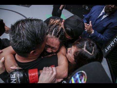 Angela Lee Post Fight Interview - May 26, 2017