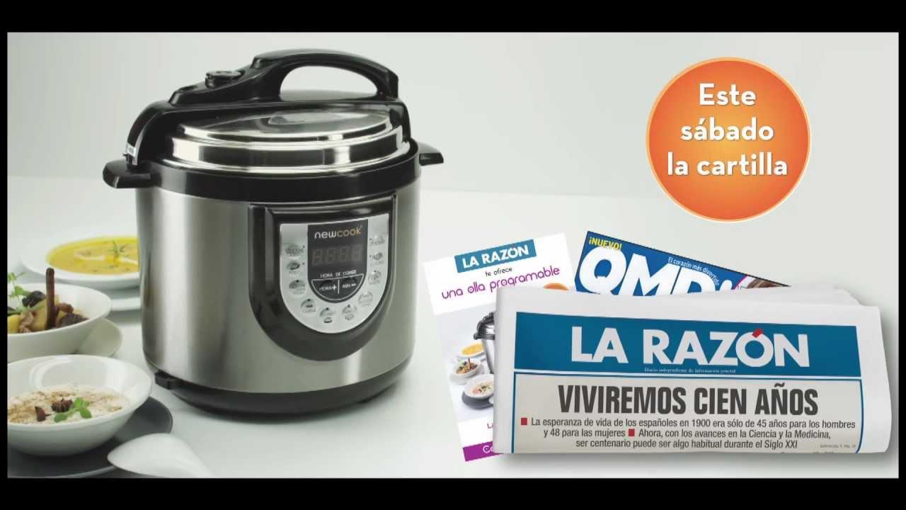 Spot la raz n olla r pida youtube for Robot de cocina la razon