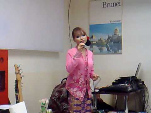 sri mersing -karaoke session at AO ofc