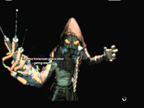 batman arkham asylum game over scarecrow youtube