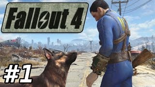 Fallout 4 E01 Vault 111 Gameplay Playthrough 1080p60