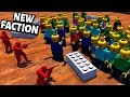 LEGOS VS Plastic Army Men ! NEW FACTION ! AMOW