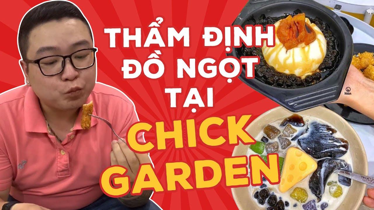 Thẩm Định Đồ Ngọt Tại Chick Garden  Bếp Trưởng Review   #shorts