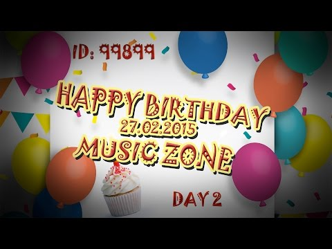 ✔ BEST MOMENTS OF BIRTHDAY MUSIC ZONE | DAY 2