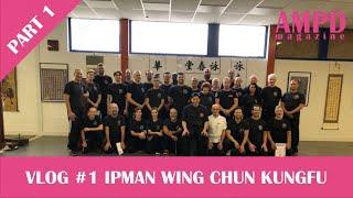 VLOG #1 (Part 1) Ipman Wing Chun Kungfu seminar