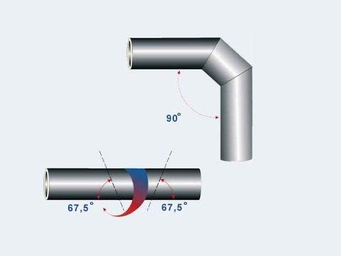 Как разрезать трубу под углом 45 или 90 градусов