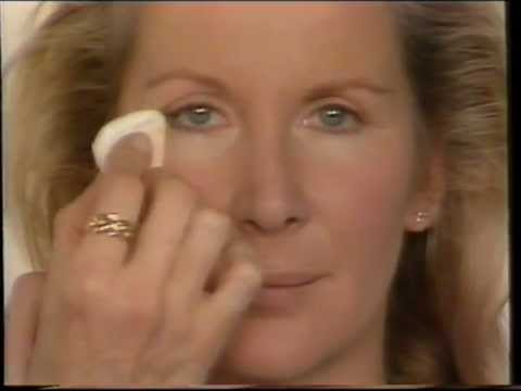 Real 1980's Natural Makeup Tutorial - Barbara Daly for The Body Shop.