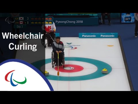 Wheelchair curling: Korea v Canada | Round Robin | PyeongCh…