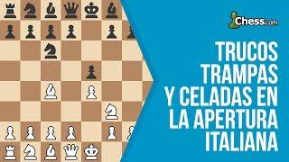 Apertura Italiana | Trucos, trampas y celadas en ajedrez