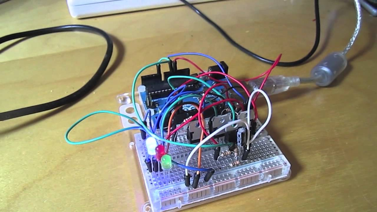 Rgb Music Visualiser For 5050 Led Strip Youtube Picture Of Circuit With Arduino
