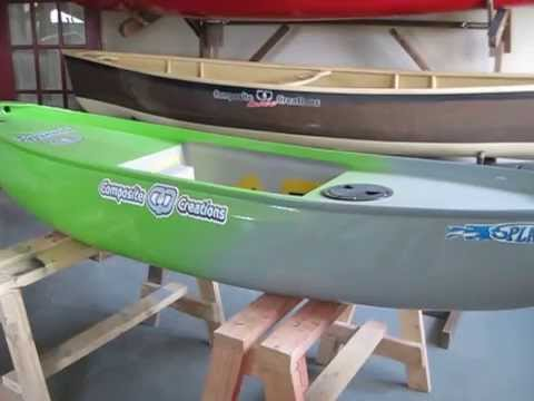 Splash canoe for sale as a used boat