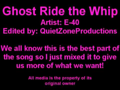 Ghost Ride the Whip MIX with MP3 QZProductions