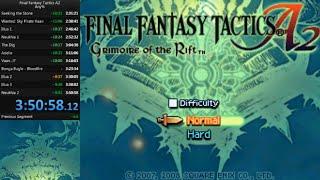 Final Fantasy Tactics A2 any% speedrun - 3:50:58 (WR)