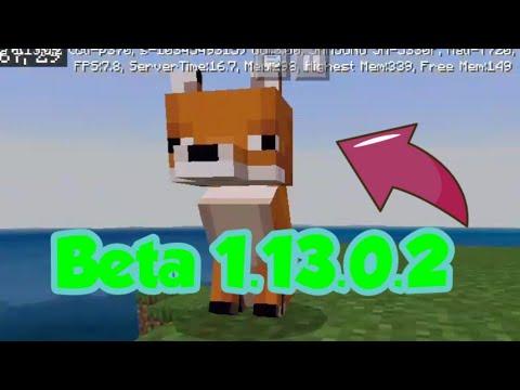 Minecraft PE Beta 1.13.0.2 (Deutsch)