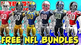 ROBLOX NEWS: New FREE NFL Bundles and Emotes Hit the Catalog