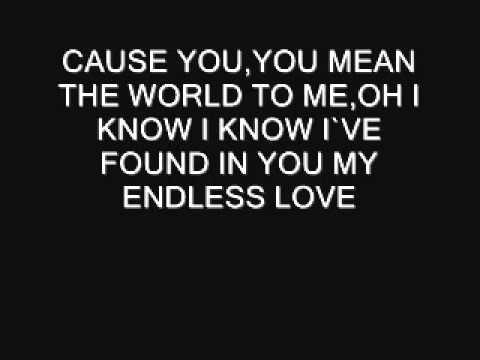 KARAOKE-LIONEL RICHIE-ENDLESS LOVE (com voz feminina)