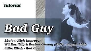 Bad Guy Line Dance(High Improv…