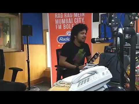 Papon's New Interview at Radio City , Mumbai