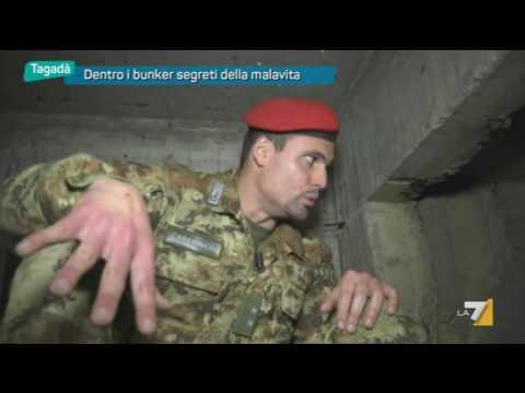 Dentro i bunker segreti della malavita