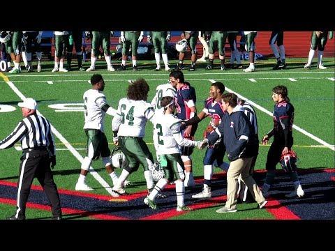 Norwalk vs Brien McMahon - High School Football Rivalry Game for Sam Testa Trophy - Nov 23, 2017