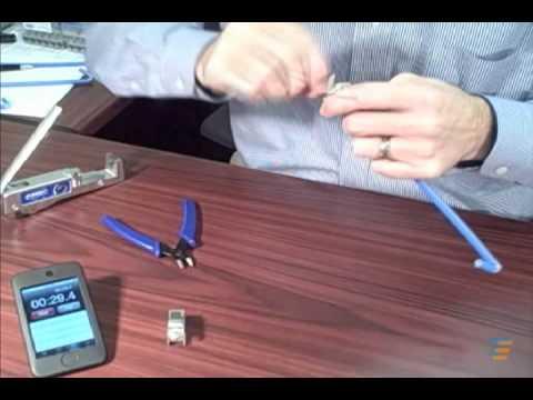 Tyco Electronics AMP NETCONNECT XG Shielded Termination Challenge