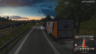 Euro Truck Simulator 2 - Krakow to Lublin [4K 60FPS]