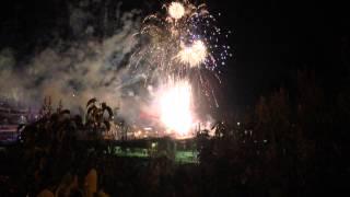 Calgary Stampede Fireworks 2014