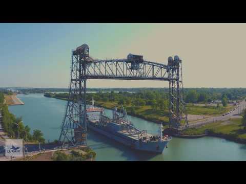 Ship THUNDER BAY at Lock 7, Welland Canal - Time lapseиз YouTube · Длительность: 4 мин29 с