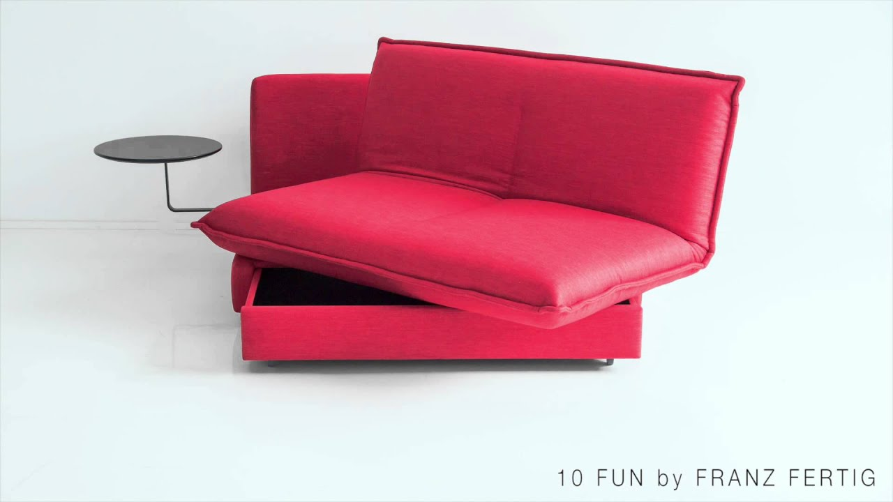 die pfiffige verwandlung vom schlafsofa fun zum bett by. Black Bedroom Furniture Sets. Home Design Ideas