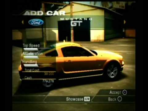 Need For Speed Undercover Ps2 All Cars Part 2 Youtube