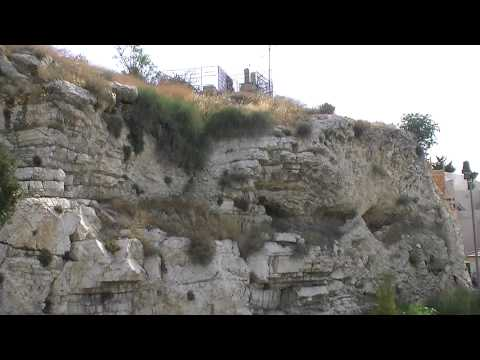 Golgotha/Calvary Proof At The Garden Tomb