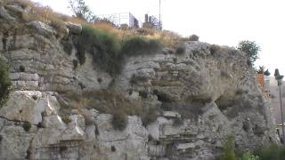 Golgotha/Calvary proof at the Garden Tomb