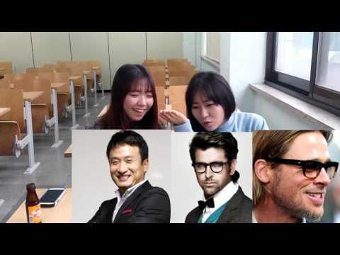 Koreans react to Bollywood Actors. Hrithik resembles Brad Pitt. Shahrukh khan. Aamir Khan,