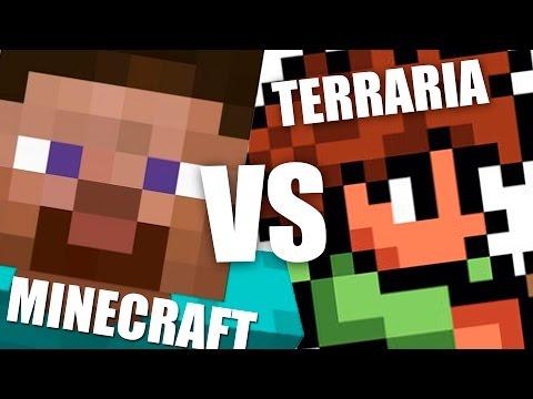 видео: minecraft или terraria
