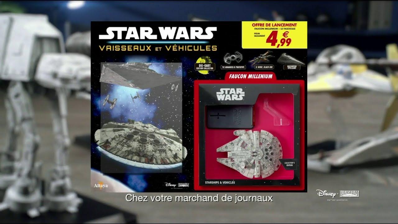 """Musique de la pub Star Wars Vaisseaux et véhicules – Faucon Millenium Altaya """"n°1 offre de lancement"""" Pub 18s 2021"""